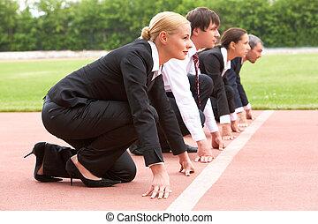 empresa / negocio, maratón