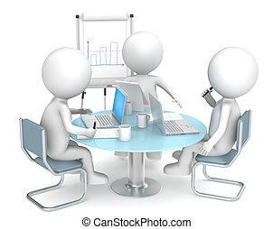 empresa / negocio, meeting.