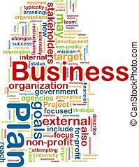 empresa / negocio, palabra, plan, nube