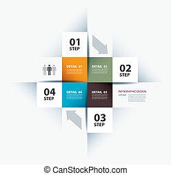 empresa / negocio, paso, papel, y, número