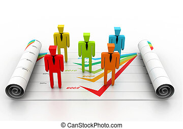 empresa / negocio, planificación, concepto