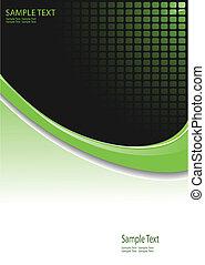empresa / negocio, plano de fondo, -, vector, illus