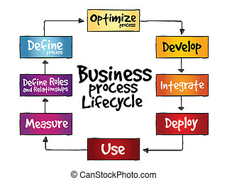 empresa / negocio, proceso, lifecycle