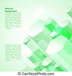 empresa / negocio, resumen, ilustración, vector, plano de ...