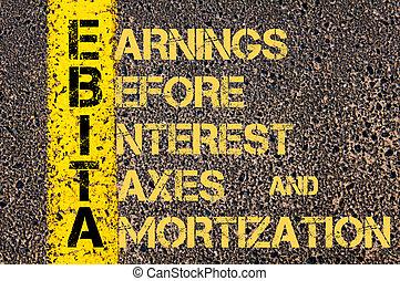 empresa / negocio, siglas, impuestos, ganancias,...