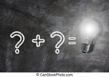 empresa / negocio, solución, problema, concepto