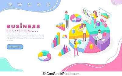empresa / negocio, trabajadores, información, estadística, datos