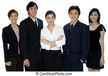 empresa / negocio, trabajo en equipo