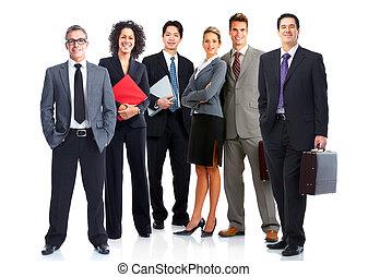 empresarios, equipo