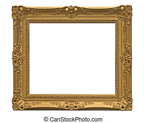 empthy picture frame - with clipping path! all sort of HQ...