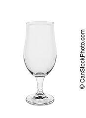 Empty 16 oz. Belgium Ale Glass