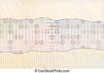 Empty abstract pattern background for name, caption or title. Shape, backdrop, digital, creativity & generative.