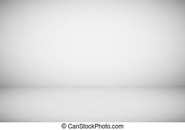 Empty abstract plain grey background. Gray light wallpaper vector illustration. Soft neutral modern elegant product design. Blank smooth clean space with shadows in room on floor