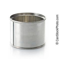 empty aluminum tin can
