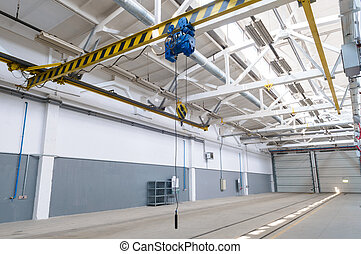 industrial warehouse interior