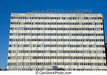 Empty apartment building in Berlin