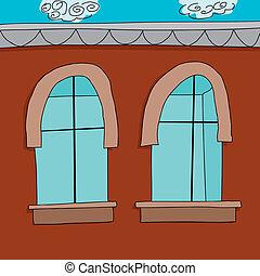 Empty Apartment Cartoon