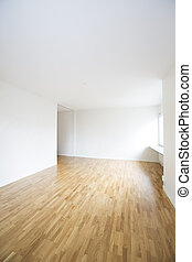 Empty Apartment - Empty apartment with white walls