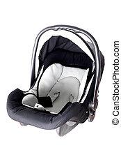 empty baby car seat