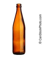 Empty beer bottle