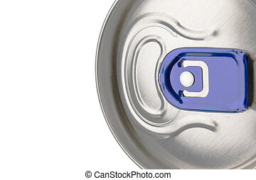 Empty beverage can