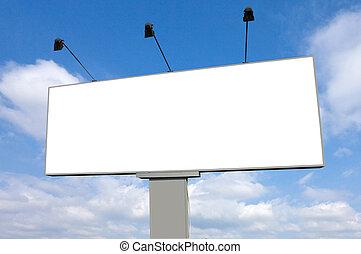 Empty Billboard (Road Sign)