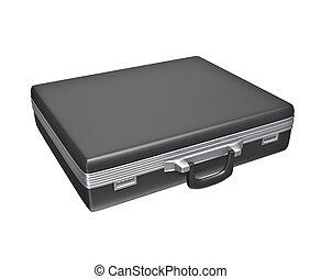Empty black case