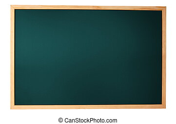 empty blackboard - empty chalkboard with space for a text...