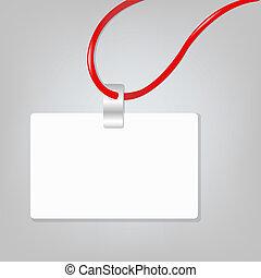 Blank Badge - Empty Blank Badge, Vector Illustration