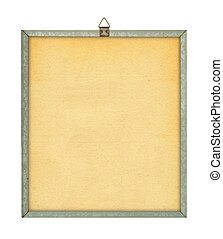 empty board against pure white background