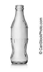 Empty bottle of cola