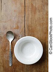 empty bowl vertical