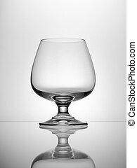 Empty Brandy Glass