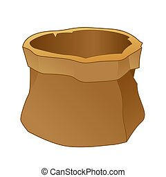 Empty Brown Sack