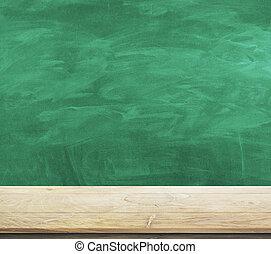 Empty chalkboard background