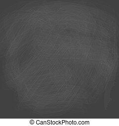 empty chalkboard black