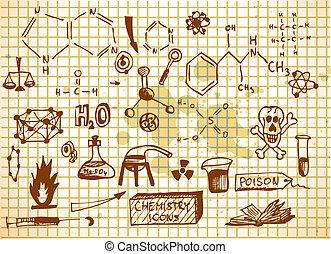 empty chemistry icons