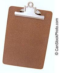 Empty Clip Board