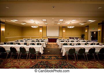 Empty conference room. - Empty conference room in the hotel...
