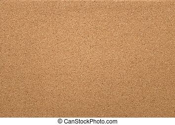 Empty cork memo board background - Empty cork pin board as...