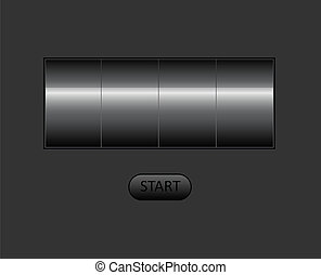 vector empty counter. You can put your own text or digit here.