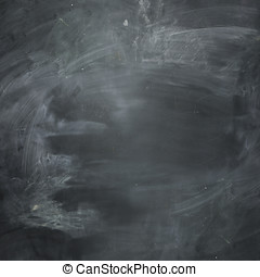 Empty dark chalkboard. blank and ready for your message.
