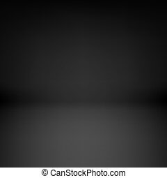 Empty dark room