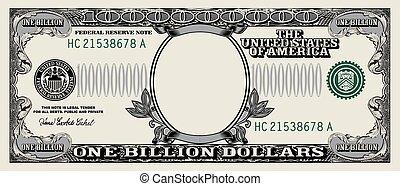 empty dollar