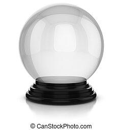 empty  dome  - empty dome over white background