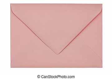 Empty envelope from blank paper
