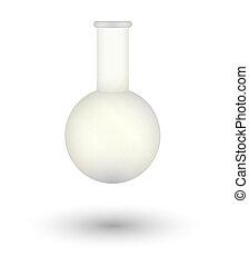 empty flask