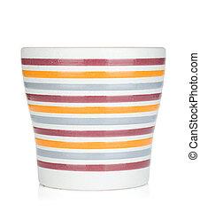 Empty flower pot