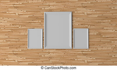 empty frame, art concept