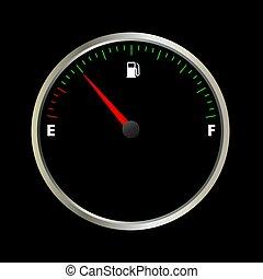 fuel gauge meter